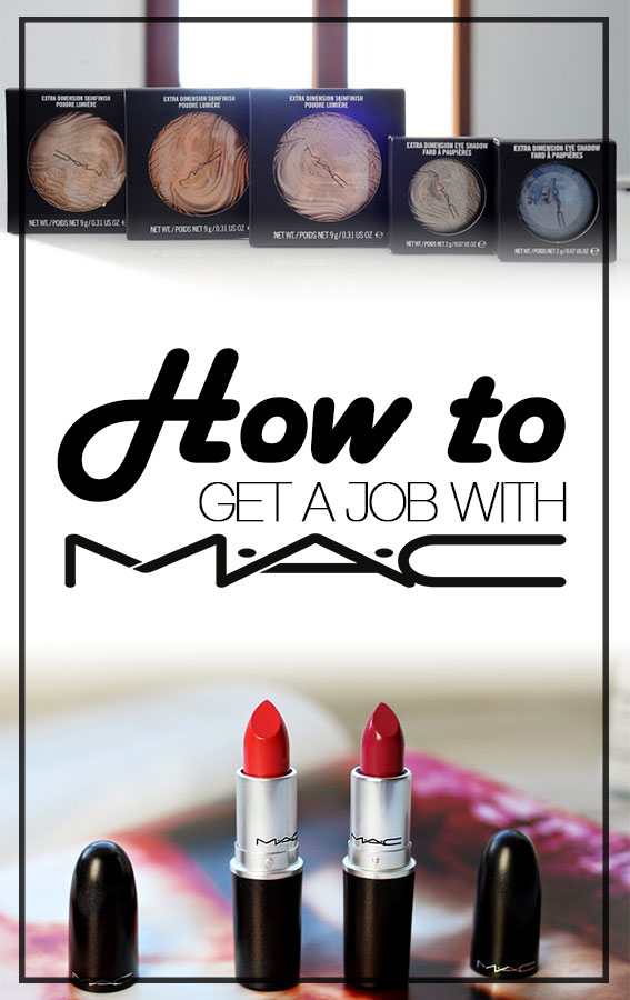 how to get a job with m.a.c cosmetics