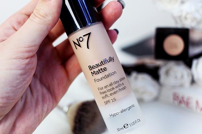 No7 beautifully matte makeup base