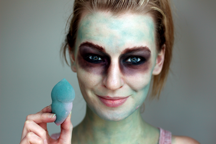 The Walking Dead Halloween Make-up | A Tutorial – Zoe Newlove