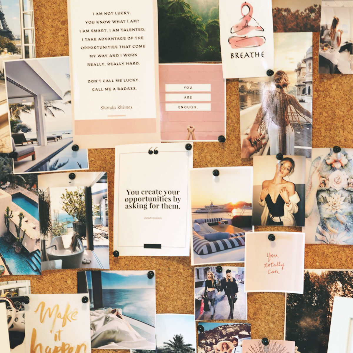 Vision Boarding and Creating Goals for a New Year