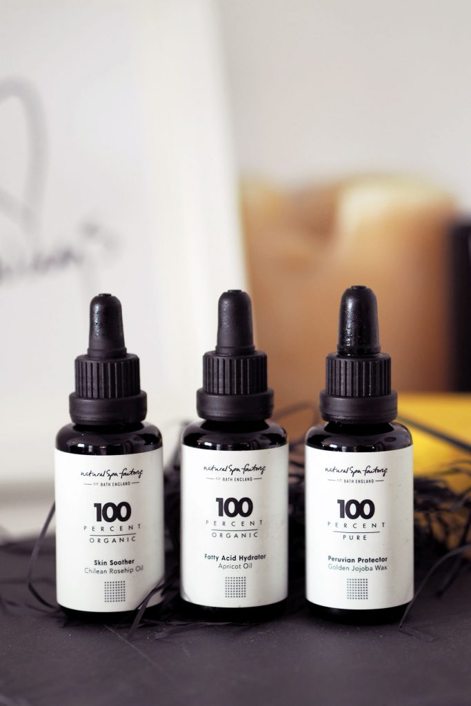 100 Percent Oils from Natural Spa Factory